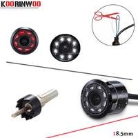 Koorinwoo Interruptor de função de Câmera de visão Traseira Do Carro Da câmera Dianteira Do Carro Luzes 8 Jalousie Visão Noturna Estacionamento Assistência Câmara de Marcha Do Carro|Câmera veicular| |  -