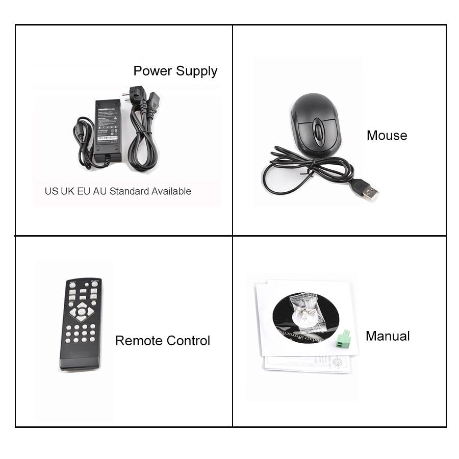 H.265 Security 8CH 16CH HD IP 1080P 5MP 4MP NVR 1.2U 2 SATA Port - Siguria dhe mbrojtja - Foto 6