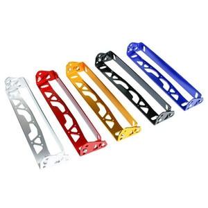Image 4 - 1pc Nuovo Multi Colore Universale Per Auto In Alluminio JDM Styling License Plate Frame Telaio Tag Porta di Alimentazione Cornici Targa