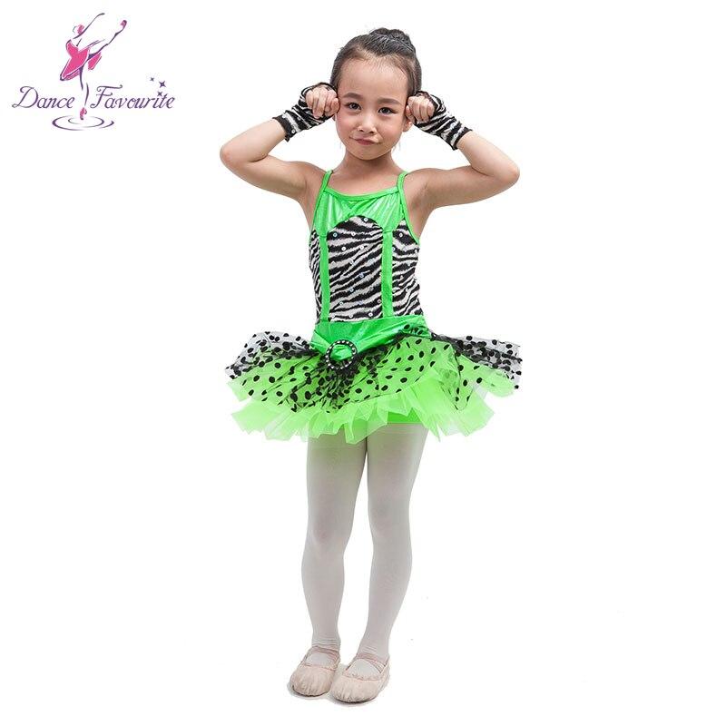 quirky zebra print bodice ballet tutu, jazz, tap dance costume, girl performance dance costume tutu