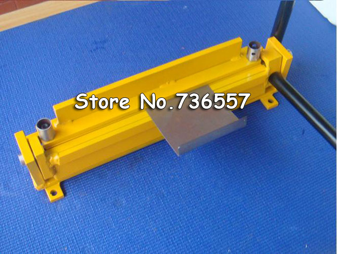 Free FedEx UPS 1pc New manual sheet metal iron aluminum copper plate bending machine diy small manual bending machine folding machine iron sheet metal bending plate bending machine