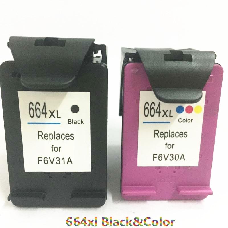 Vilaxh For HP664 compatible Ink Cartridge Replacement HP 664xl xl DeskJet 2135 2138 3635 3636 3638 4535 4536 4538