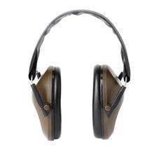 Faltbare Gehörschutz Schießen Sport Ohr Muffs Noise Cancelling Ohrenschützer