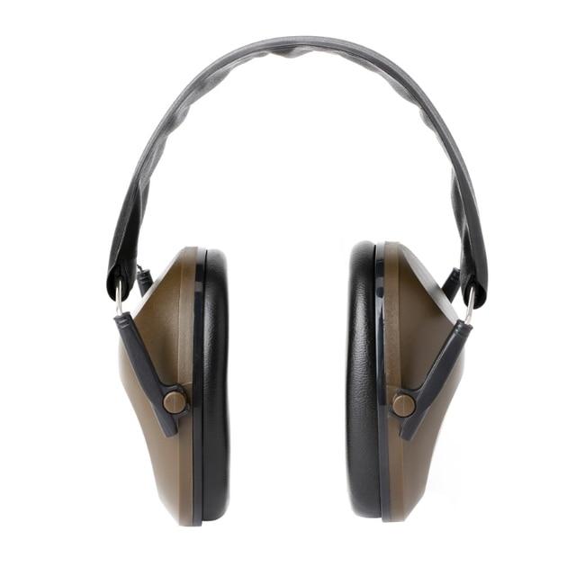 Proteção auditiva dobrável tiro esportes orelha muffs cancelamento de ruído earmuff