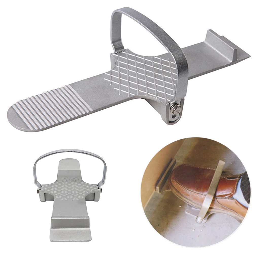 Multifunctional Drywall Door Foot Use Hand Tool Repair Control Plate Strong Simple Board Lifter Anti Slip Plaster Sheet Alloy(China)