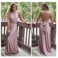 Mujeres Cuerpo con Cuerpo longitud partido backless sexy vestido largo púrpura Club desgaste