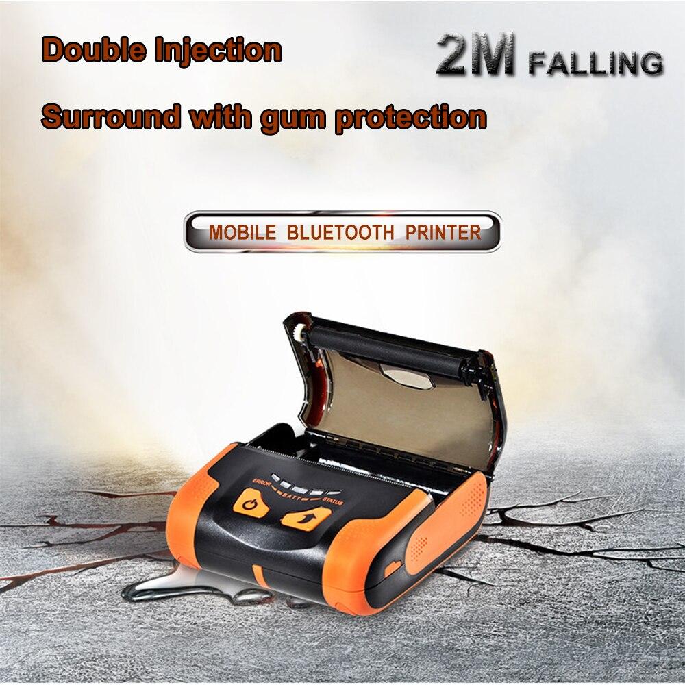 IssyzonePOS USB Bluetooth Imprimante Thermique 80mm Mobile Mini Lithium-ion Batteries Imprimante Soutien Arabe Thai Impression