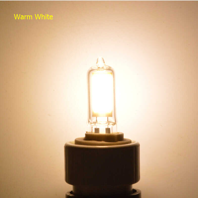 The New G9 Led Lamp Dimmable 220V COB Lamp Glass Body Ultra Bright LED Source light Replace Old Halogen bulb free shipping