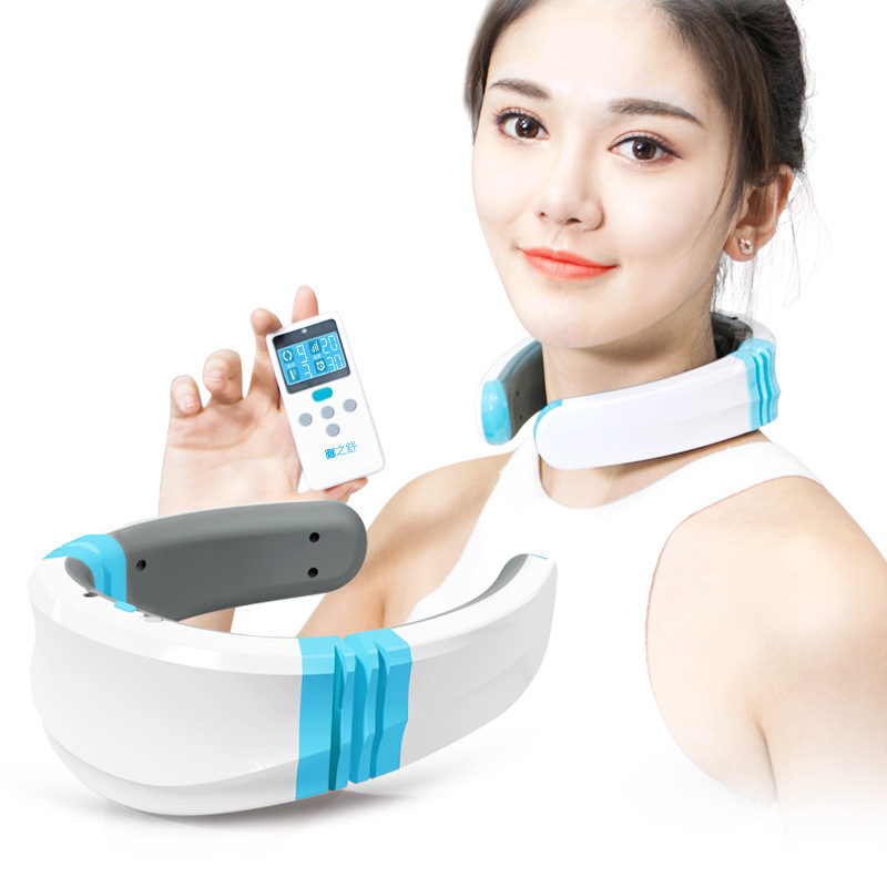 Cervical Vertebra Organ Neck Massage Hot Compress Electric Pulse Motor-driven Whole Body And Collateral Channels orthopedic massage organ hot compress