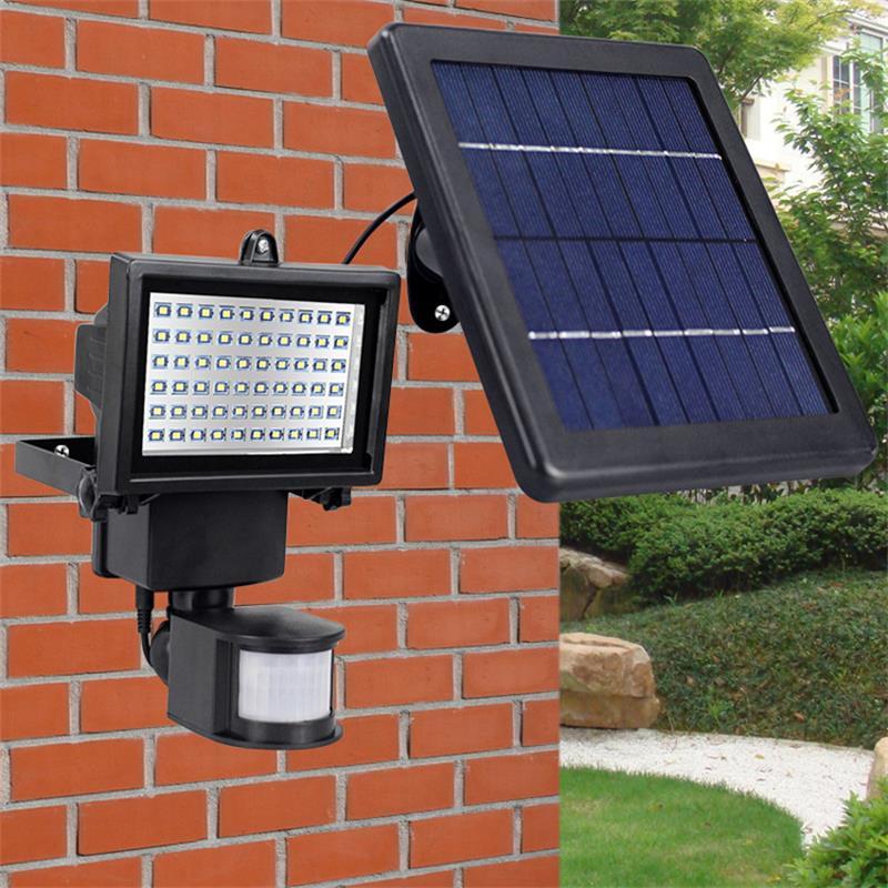 u easy solar power led light super bright 60 led solar. Black Bedroom Furniture Sets. Home Design Ideas
