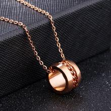 Оптовая продажа модная нержавеющая сталь романтичное ожерелье
