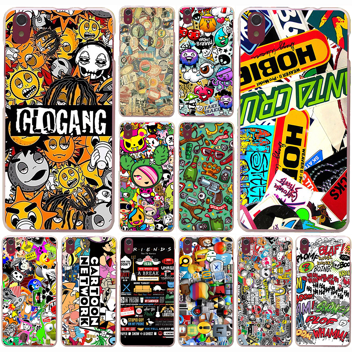 Design poster k3 - Panel Pencil Skirts Poster Friends Hard Case For Lenovo S90 S60 S850 K3 K4 K5 K6