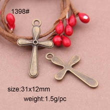 Cheap Fashion Crucifix Cross Charm Pendant Used In Rosary Or Bracelet