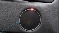 For BMW X5 F15 2014 2015 Car 6pcs Speaker Audio Ring Decoration Cover Trim