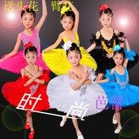 2016 New Arrival Children Ballet Tutu Dress Swan Lake Ballet Costumes Kids Girl Ballet Dress For