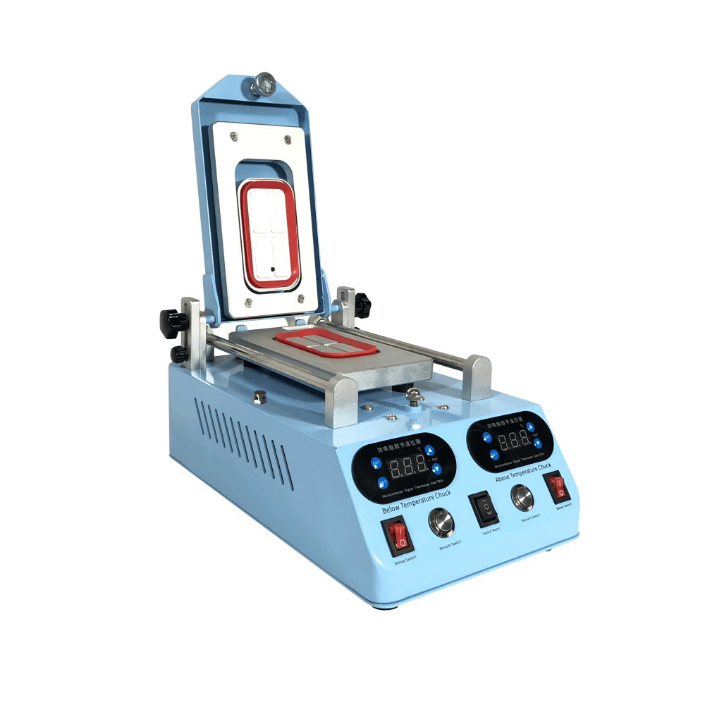 Genuine TBK 268 Separator Machine Automatic LCD Screen Frame Bezel Heating For Flat Curved Screen Glass Middle Frame Separat machine