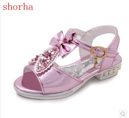 377e106ccb934a 2017 New arrival girls sandals fashion summer child shoes high quality cute  girls shoes design casual kids sandals size 26 36-in Sandals from Mother    Kids ...