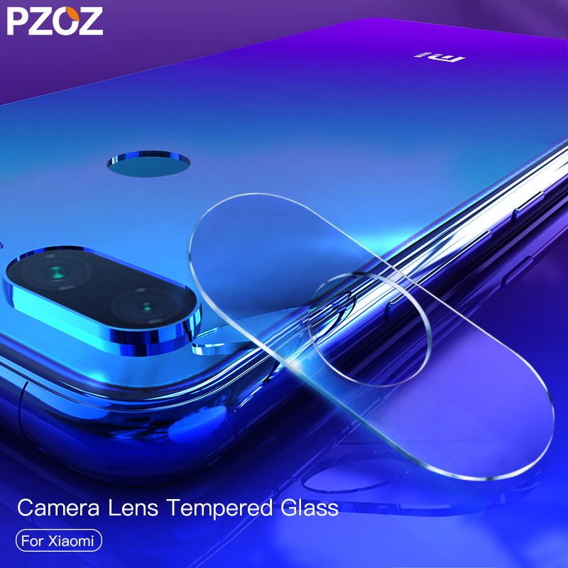 PZOZ For <font><b>Xiaomi</b></font> Pocophone F1 <font><b>Mi</b></font> A2 <font><b>9t</b></font> Redmi Note 5 6 7 K20 Pro Back <font><b>Camera</b></font> Lens Screen <font><b>Protector</b></font> Film Tempered Glass Protective image