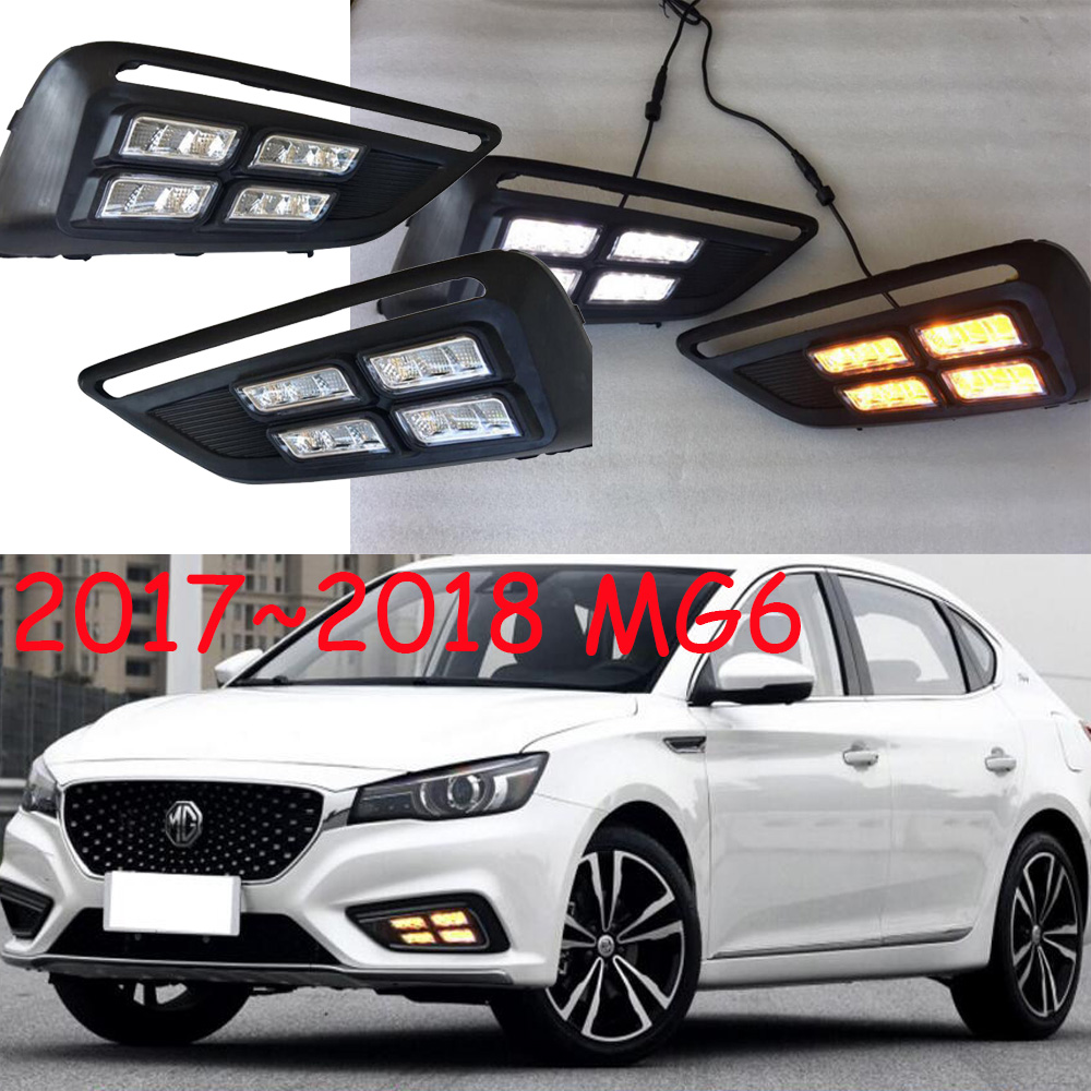 2017~<font><b>2019</b></font>,<font><b>MG6</b></font> Daytime light;chrome, Free ship!LED,<font><b>MG6</b></font> fog light,car styling,<font><b>MG6</b></font> HEADLIGHT,mg3 mg5 gs image