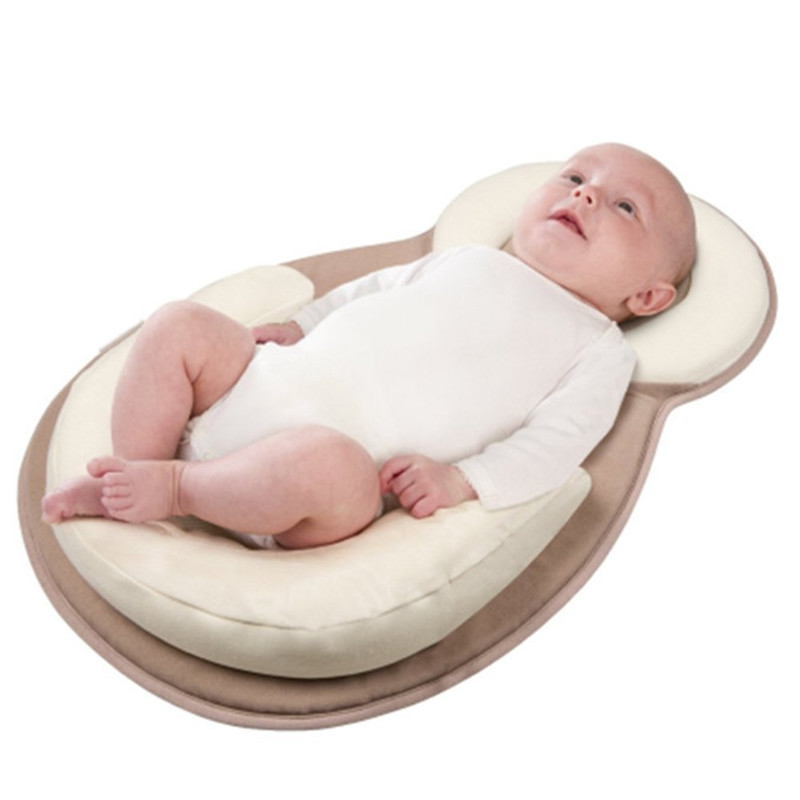 Newborn Organic Cotton Baby Protection Pillow Baby