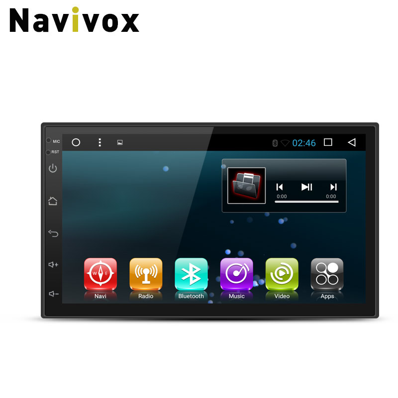 Navivox 7 2 din Android 7.1.1 Car Multimedia Player Universal Car DVD GPS Radio Stereo for Nissan Toyota Peugeot Kia HyundaiNavivox 7 2 din Android 7.1.1 Car Multimedia Player Universal Car DVD GPS Radio Stereo for Nissan Toyota Peugeot Kia Hyundai