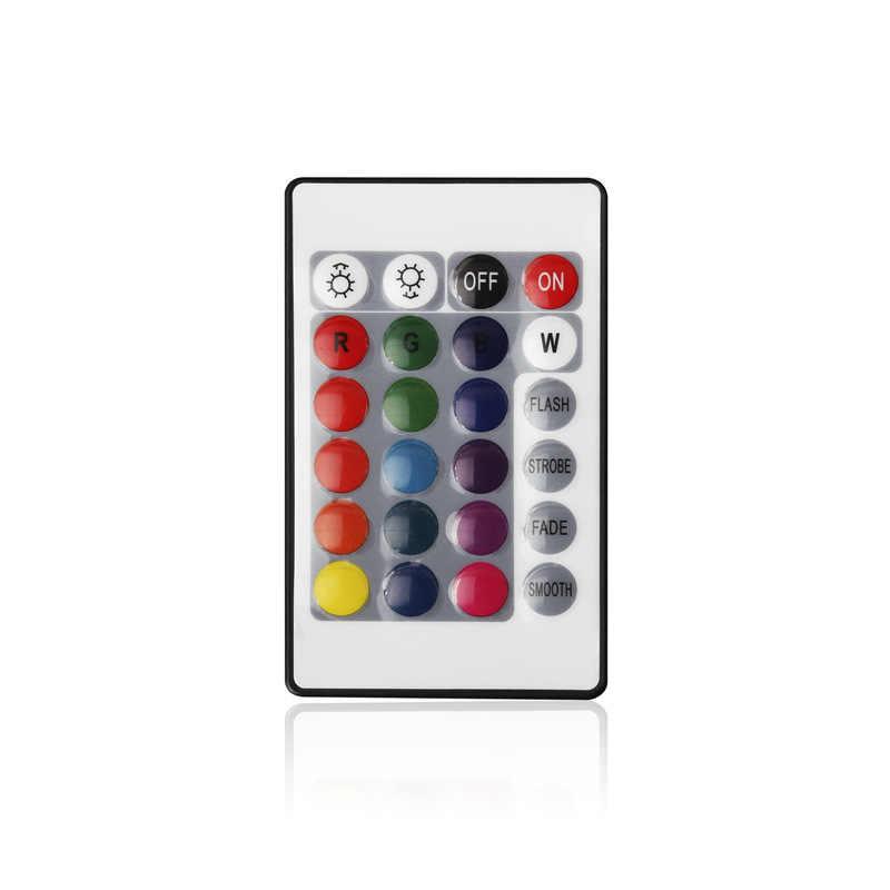 Светодиодная лента 12 в 24 ключа ИК пульт дистанционного управления для SMD2835 светодиодный компонентный видеосигнал ленты светодиодов блок управления диммер RGB контроллер Лер не аккумулятор