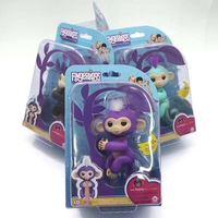 Fingerlings Baby Monkey Smart Interactive Monkey WowWee Smart Induction Toys Finger Baby Monkey Electronic Pets Toys