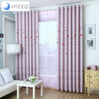 Eco Friendly Child Cartoon Curtain Window Curtain Baby Customize Finished Curtain Kids Curtain For Children Princess