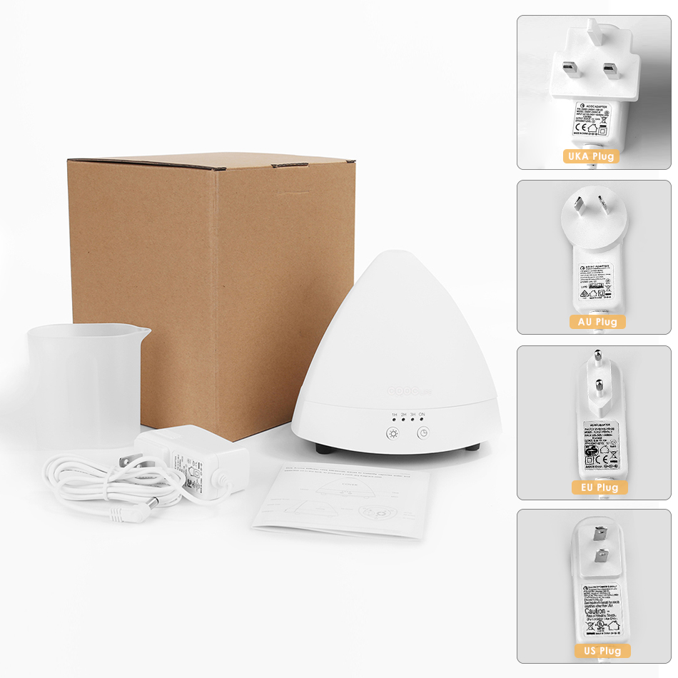 CRDC ароматерапия эфирное масло диффузор светодиодные фонари ультразвуковой холодный туман аромат увлажнитель для офиса спальня детская комната
