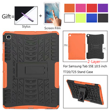 Case For Samsung Galaxy Tab S5E 10.5 2019 T720 Case Armor Heavy Stand ShockProof Cover for Samsung Tab S5E SM-T720 SM-T725 Case чехол fasion case для samsung galaxy tab s5e 10 5 t720 t725 purple 10345