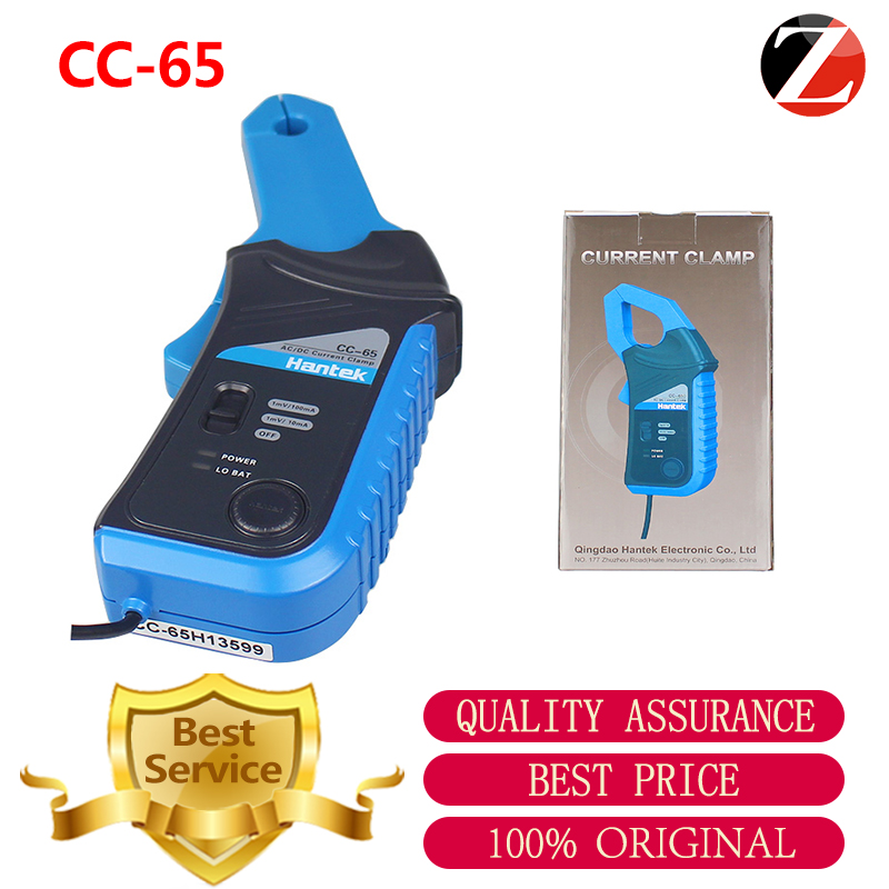 Current Clamp meter Hantek CC65 for Oscilloscope and Multimeter AC DC with BNC Connector CC65 20kHz