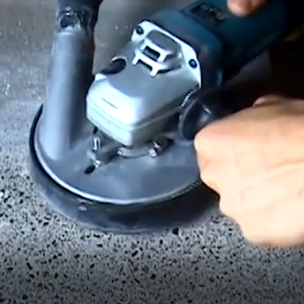Aluminum Dust Shroud For Concrete Angle Grinder | 5 inch/125 mm