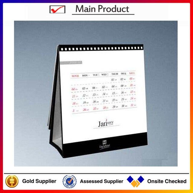 table calendar 2016 spiral bound desk calendar cheap table calendar