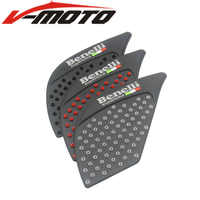 3M+silica gel Motorcycle Tank Pad Protector Sticker Decal Gas Knee Grip Tank Traction Pad For Benelli 300 302