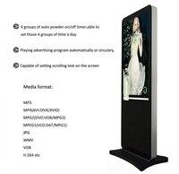 55 lcd/светодиодный киоск дисплей Бесплатно Стоящий цифровой рекламные вывески плеер электронные знаки