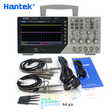 Hantek อย่างเป็นทางการ DSO4204B USB Oscilloscopes ดิจิตอล 4 ช่อง 200Mhz 1GS/s PC LDC ไฟฟ้า Osciloscopio