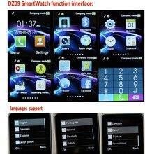 2016 heißer Original DZ09 Bluetooth Smart Uhr für Android Phone Support SMI/TF Männer Frauen Smartwatch Sport Armbanduhr in lager