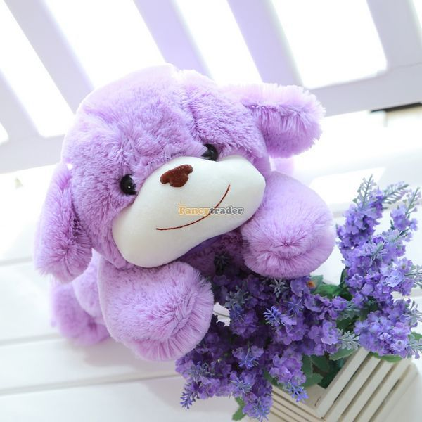 Fancytrader 39'' / 100cm Super Lovely Soft Jumbo Plush Lavender Purple Dog Toy, Nice Gift For Kids, Free Shipping FT50137 fancytrader new style giant plush stuffed kids toys lovely rubber duck 39 100cm yellow rubber duck free shipping ft90122