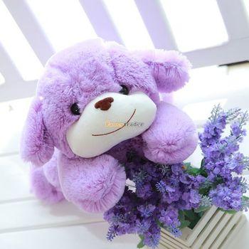 Fancytrader 39'' / 100cm Super Lovely Soft Jumbo Plush Lavender Purple Dog Toy, Nice Gift For Kids, Free Shipping FT50137