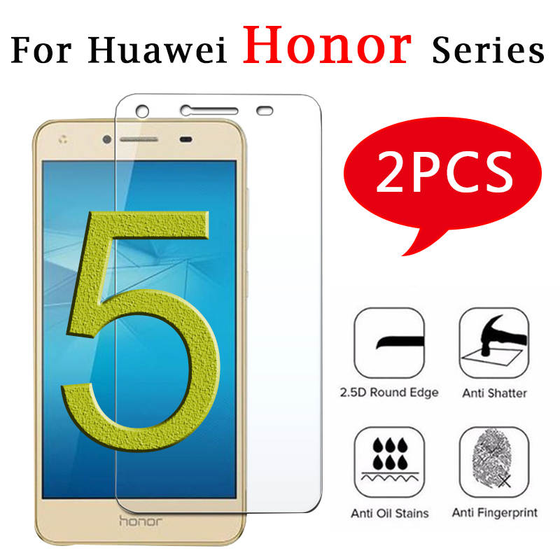 2pcs For Huawei Honor 4c Tempered Glass 5a A C X Screen Protector View Homor Verre X4 A5 Protective Film Honer Honor 4 X A4 Glas