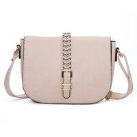 Woven Belt Fashion Women's Stylish Handbags Pink Crossbody Bag Messenger Sale Small Ladies Handbags For Women Shoulder Bags