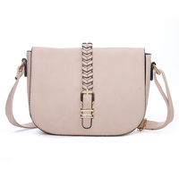 Woven Belt Fashion Women's Stylish Handbags Pink Crossbody Bag Messenger Sale Small Ladies Handbags For Women Shoulder Bags