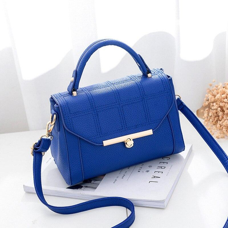 Mode Damen Version tiefes Blau Hohe Schwarzes Pink Designer