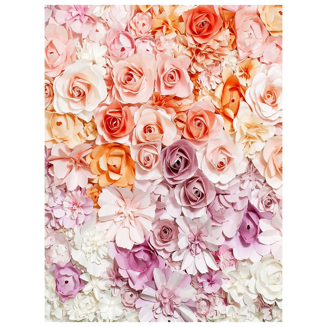 5x7ft Photography Backdrop Paper Flower wall gorgeous wedding baby shower Beautiful bride background props photocall folding type laser cut design bride groom wedding invitations kit blank insert paper invitation card convite casamento