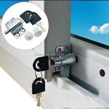 Window shield sliding window locks aluminum