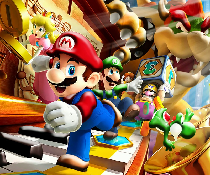 US $9 99 50% OFF|3D Mario Mural Wallpaper Murals for Walls 3 d Wall Decor  Textile Kids Room Children Baby Bedroom Wall Covering Paper-in Wallpapers