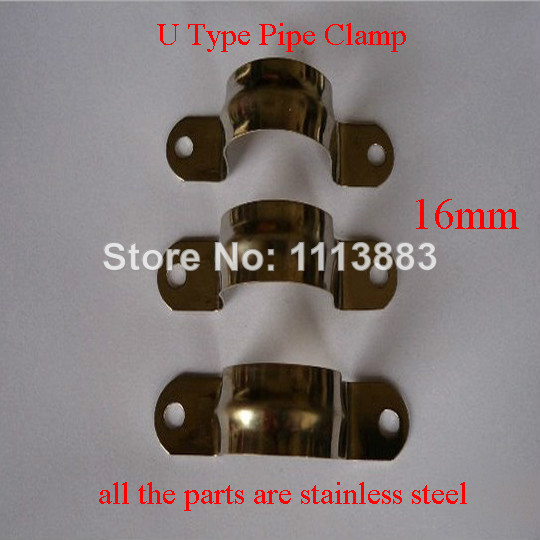 US $7 46 |Stainless Steel Saddle Clamps Pipe Clips 16mm-in Clamps from Home  Improvement on Aliexpress com | Alibaba Group