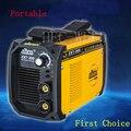 Venda quente JUBA soldador IGBT Inversor MMA ARC ZX7-200 máquina de solda com eletrodo de Solda Portátil suporte e braçadeira da terra