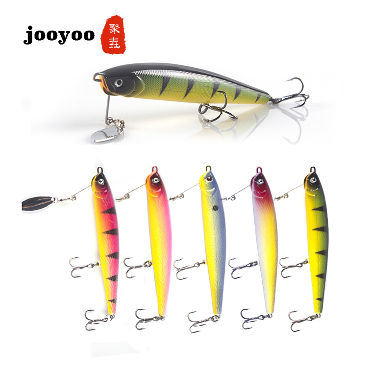 Hot 1pcs Fishing Lure Hard Bait 14.5g /11cm Sea Fishing Tackle Pencil High Quality Bionic Minnow Fish Bait  jooyoo