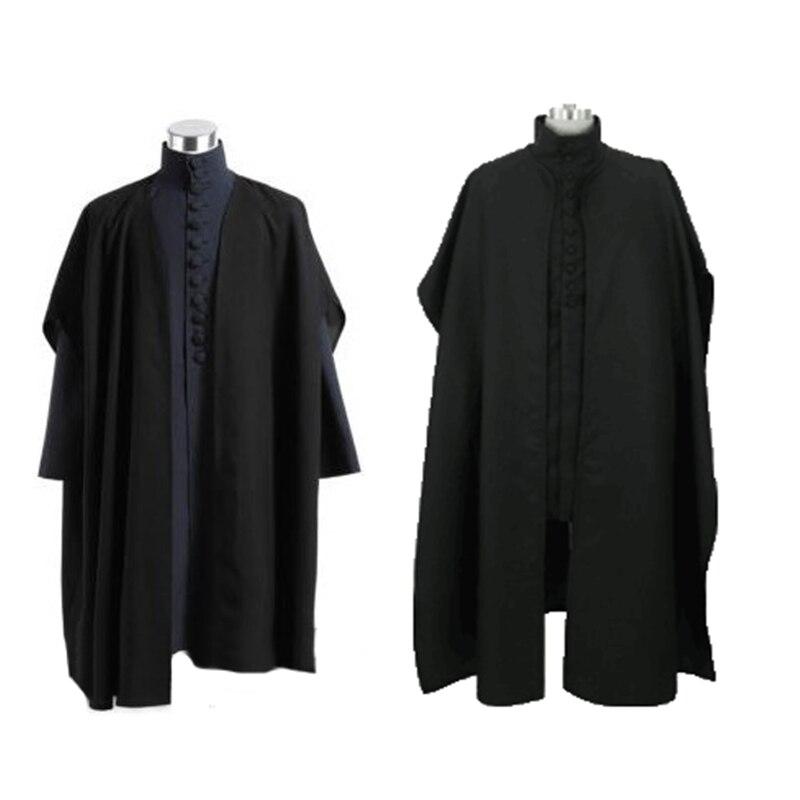 Severus Snape Hall woz snape black Cosplay costume Perfect custom for you!